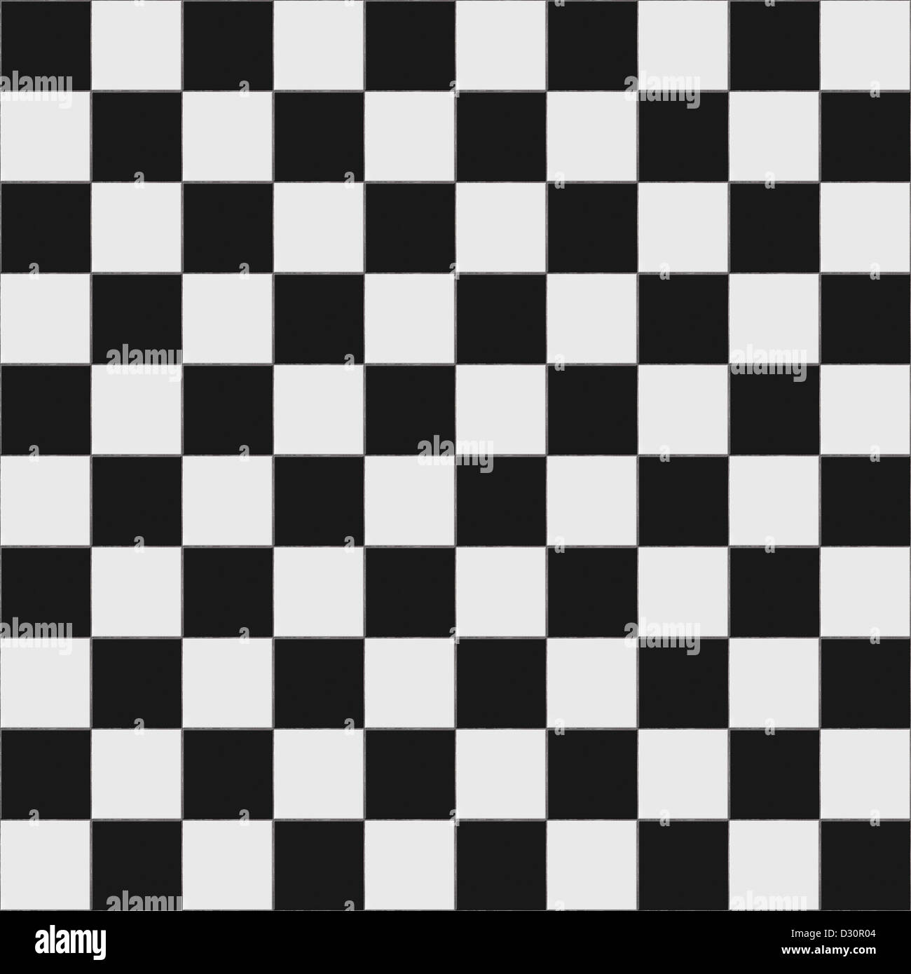 Black And White Checkered Floor Tiles With Texture This