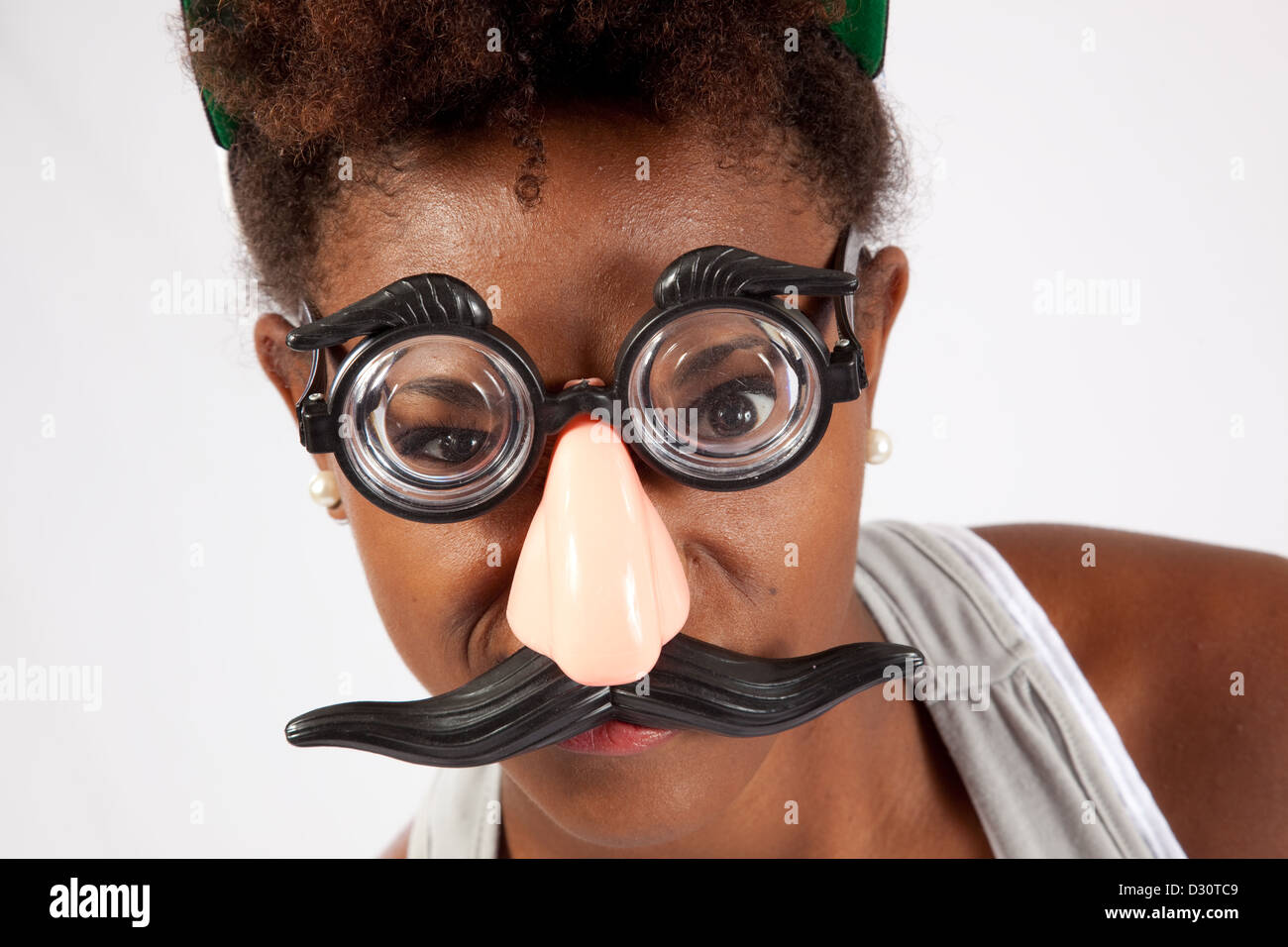 Black Thick Large Droop Style Fancy Dress Moustache /& Thick Black Eyebrows