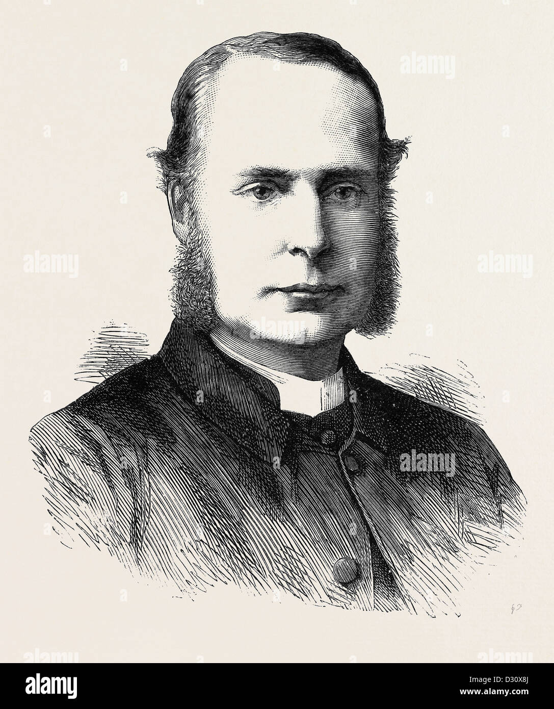 THE REV. CANON ERNEST ROLAND WILBERFORCE, BISHOP-ELECT OF NEWCASTLE-ON-TYNE - Stock Image