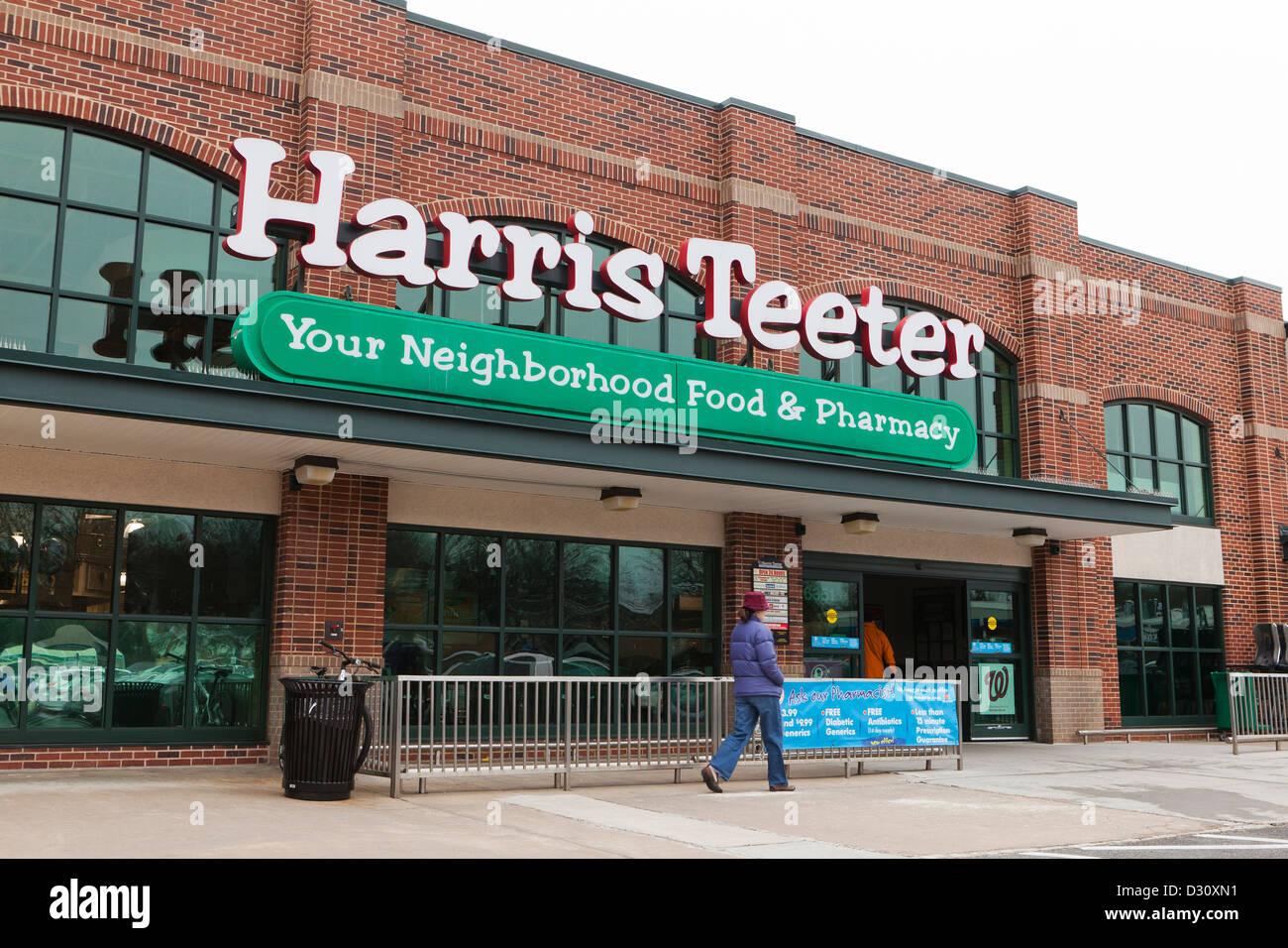 Harris Teeter market - Stock Image