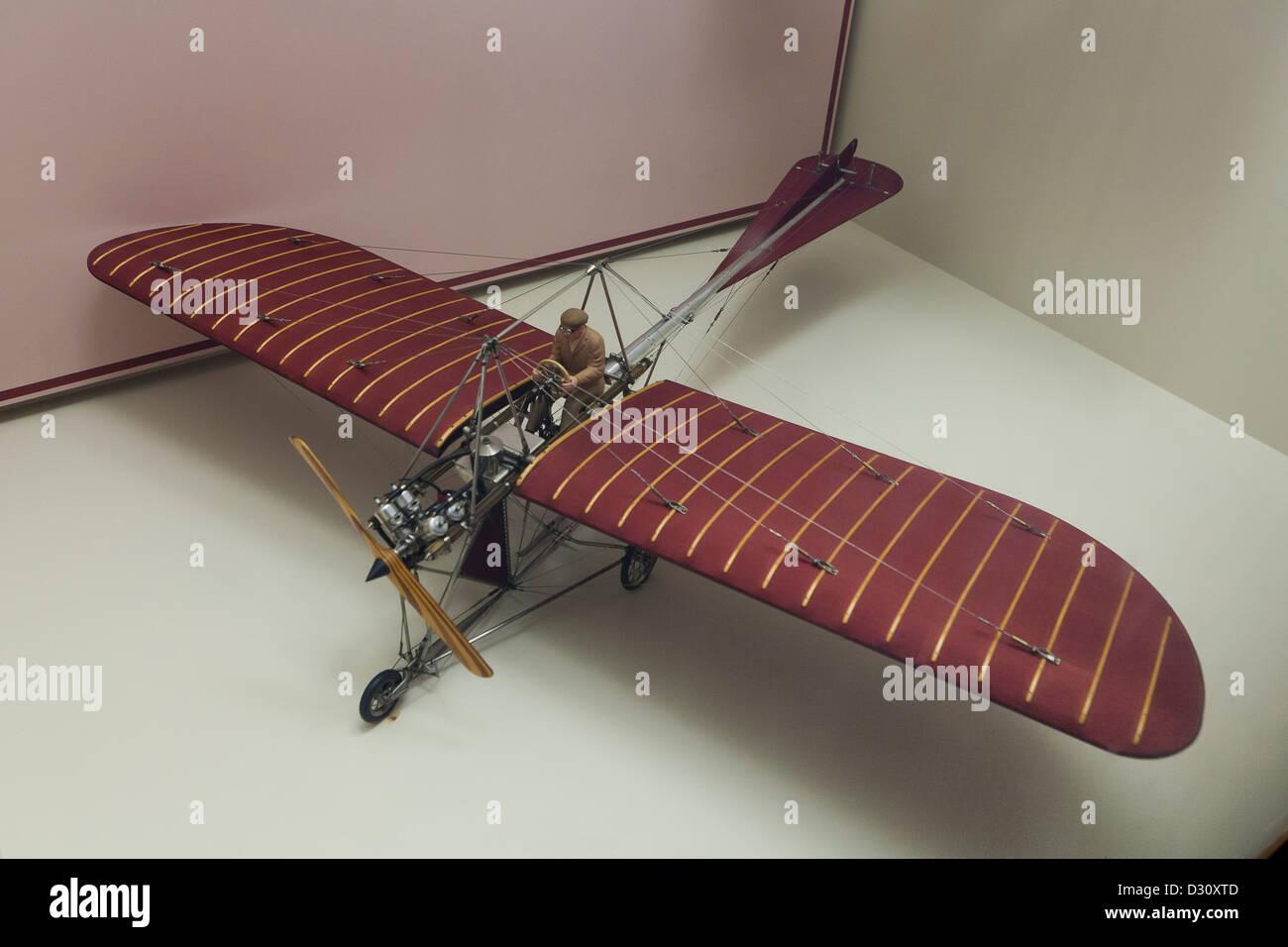 Johnson Monoplane model - Stock Image