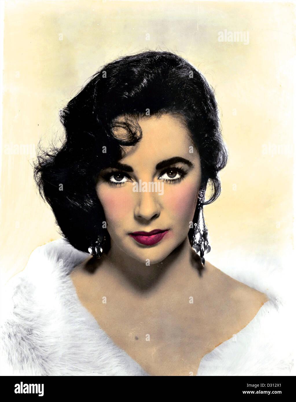Elizabeth Taylor - Stock Image