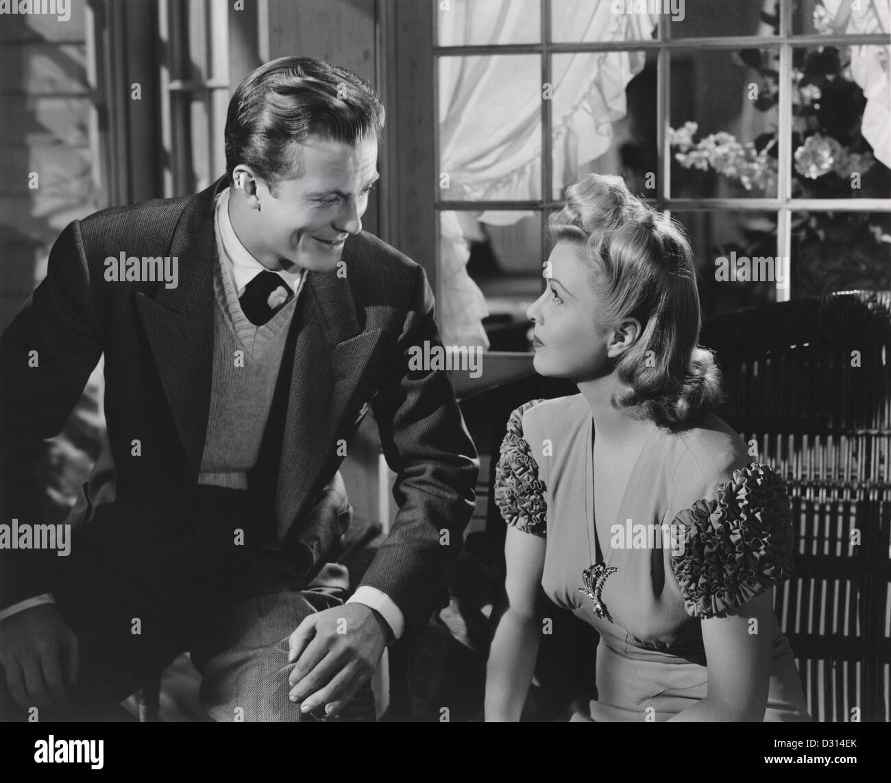 The courtship of Andy Hardy - Stock Image