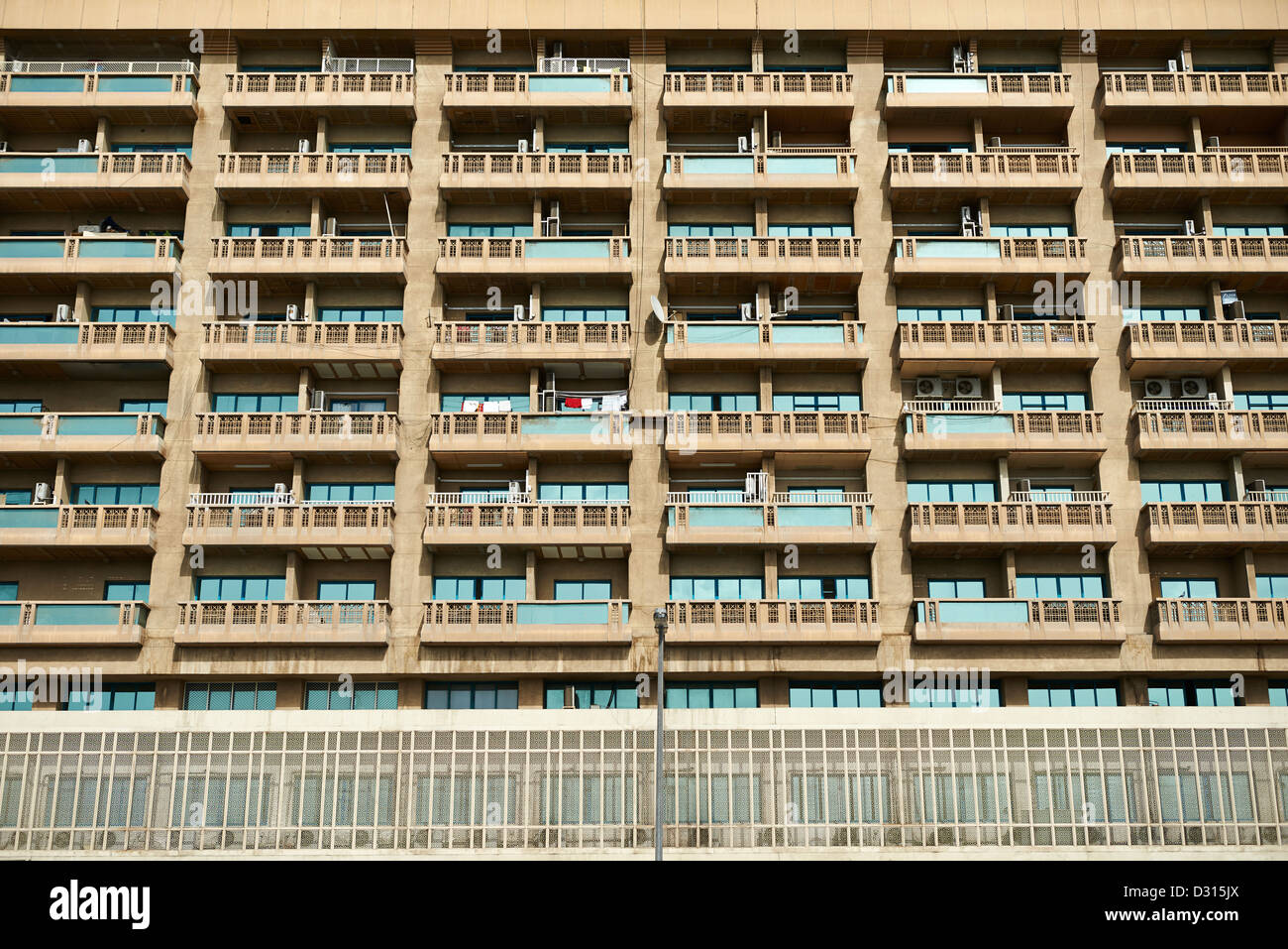 A grid of dense apartment units - Stock Image
