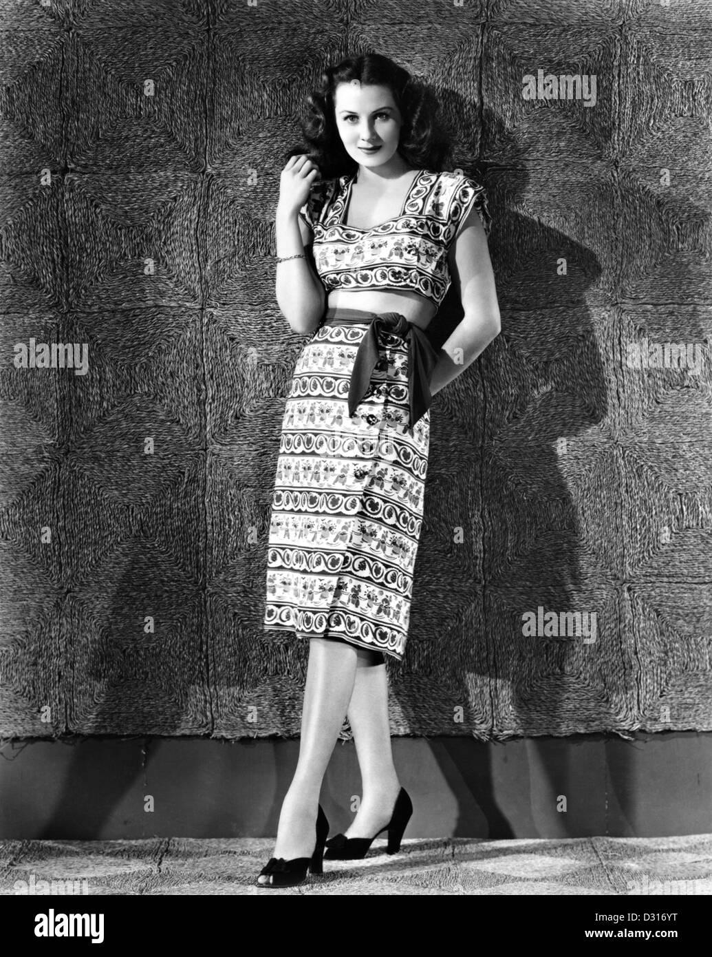 Rhonda Fleming - Stock Image