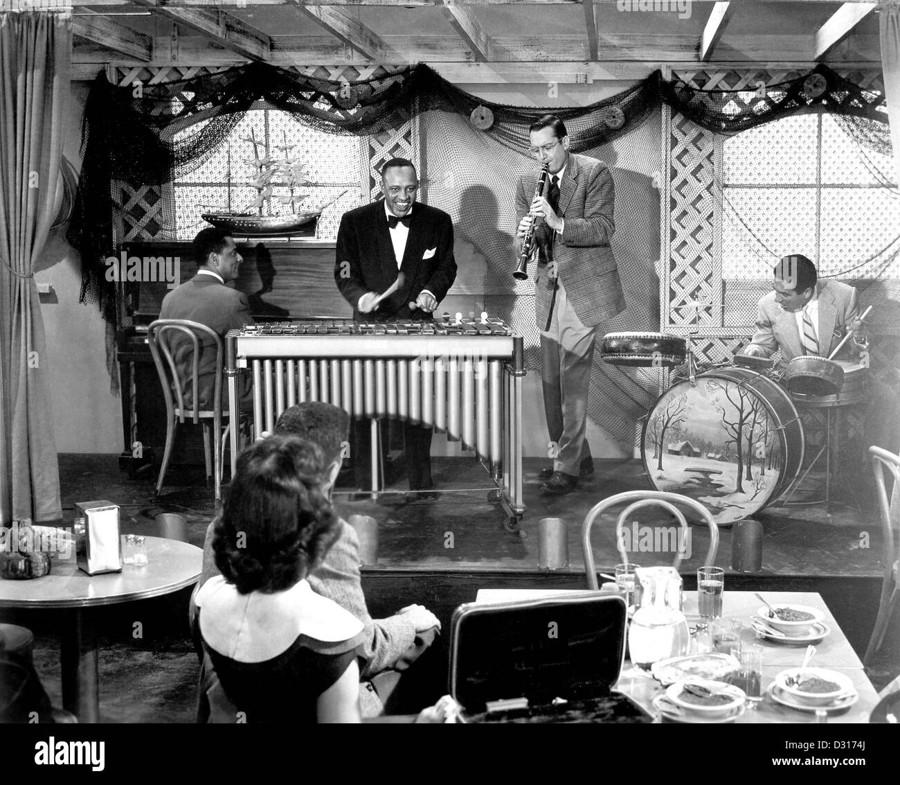 The Benny Goodman Story - Stock Image