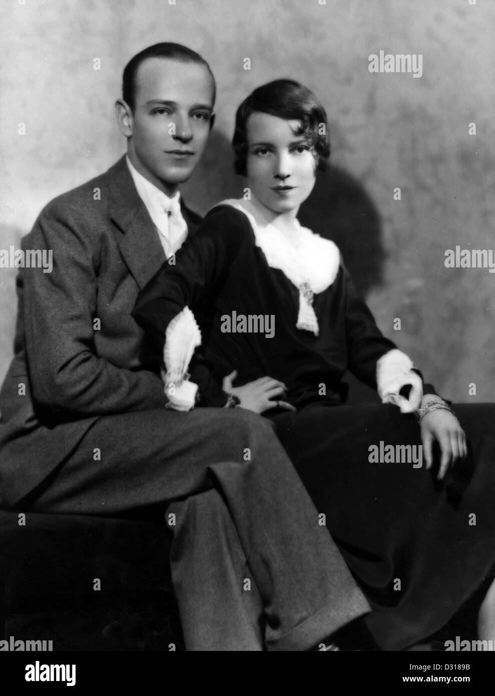 Fred Astaire, Adele Astaire - Stock Image