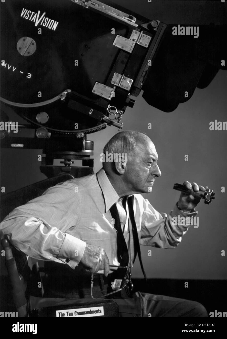 Cecil B. DeMille - Stock Image