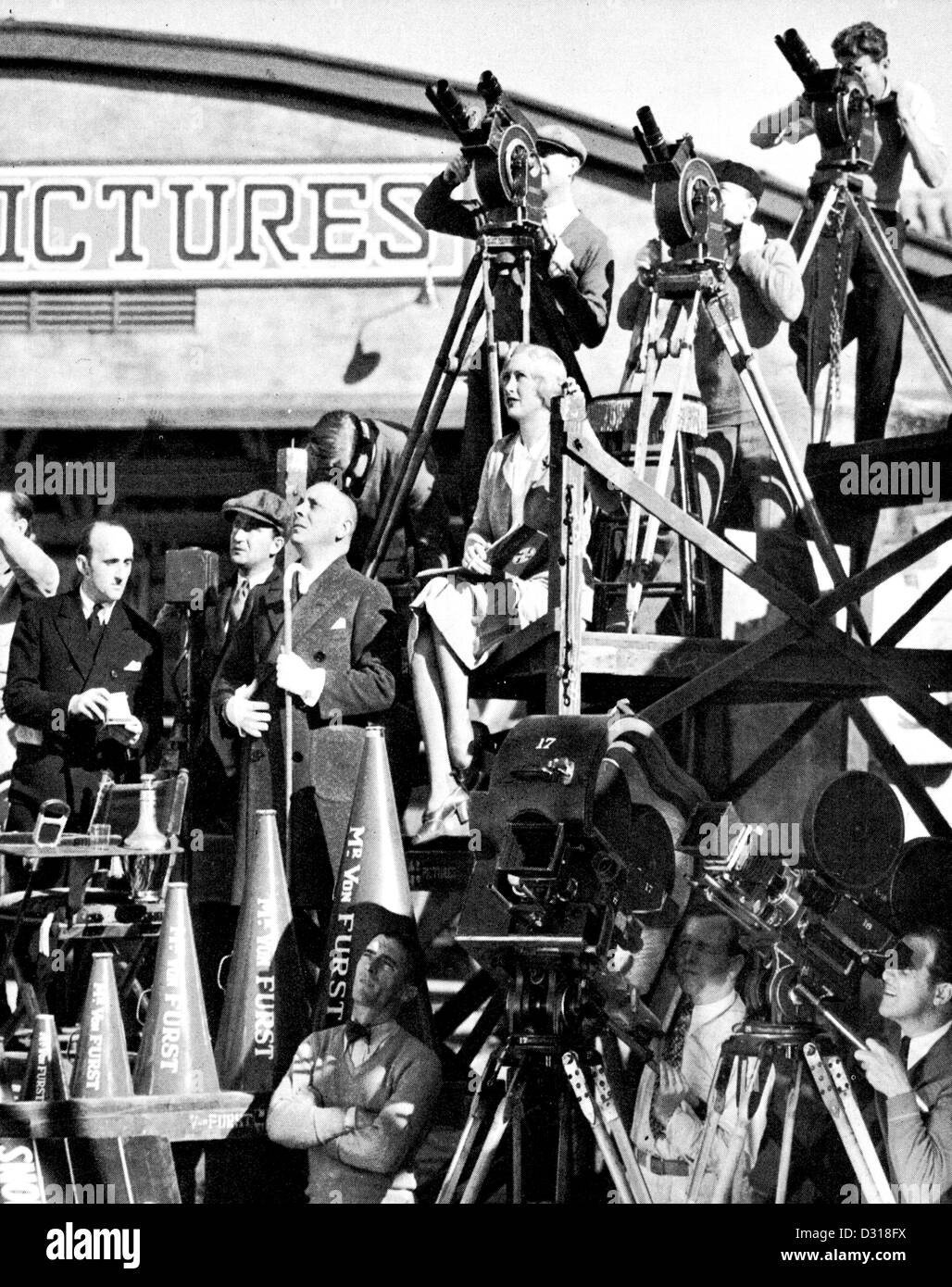 Erich Von Stroheim - Stock Image