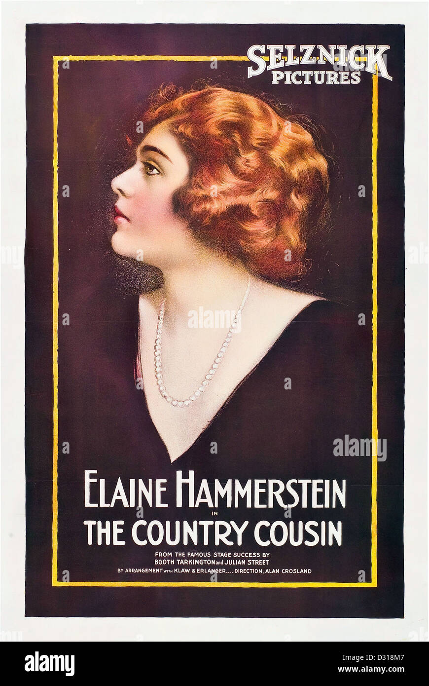 The country cousin - Stock Image