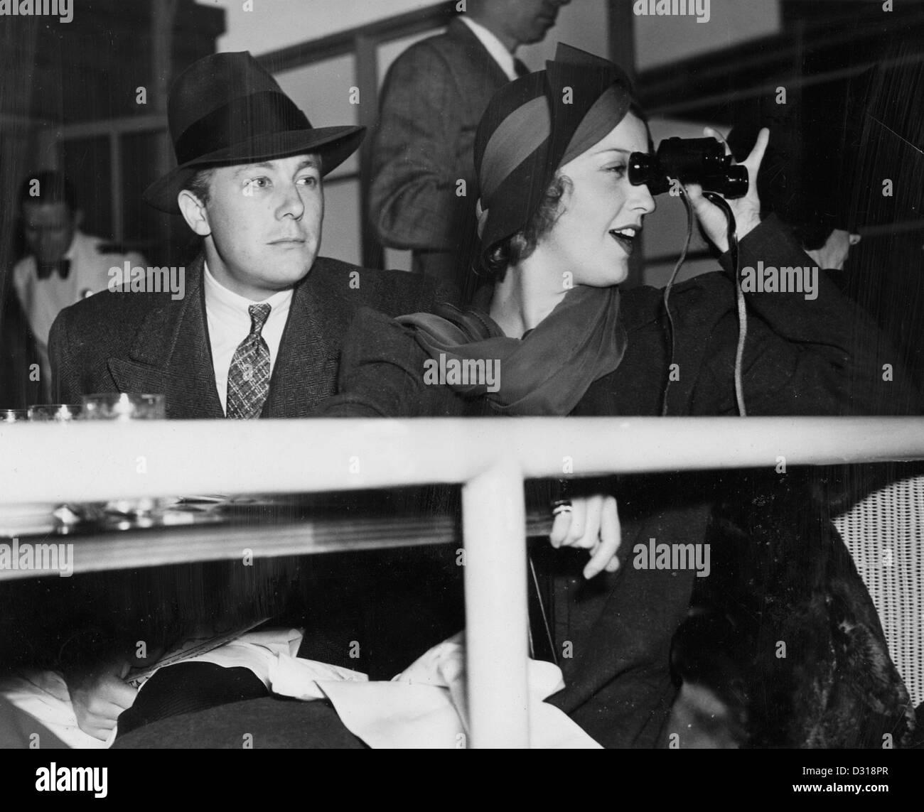 Gene Raymond, Jeanette MacDonald - Stock Image