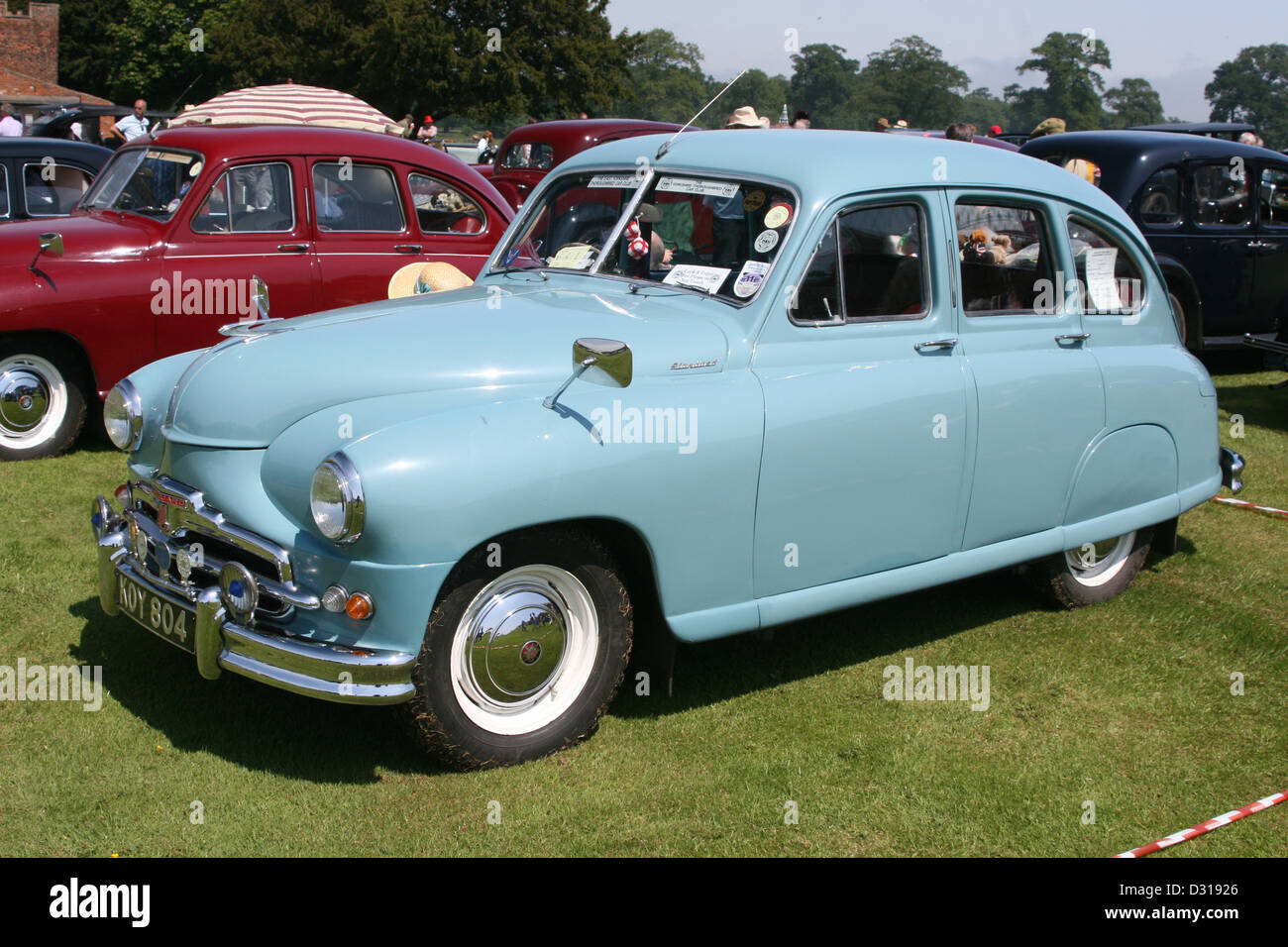 Vanguard Motor Car Stock Photo: 53504142 - Alamy