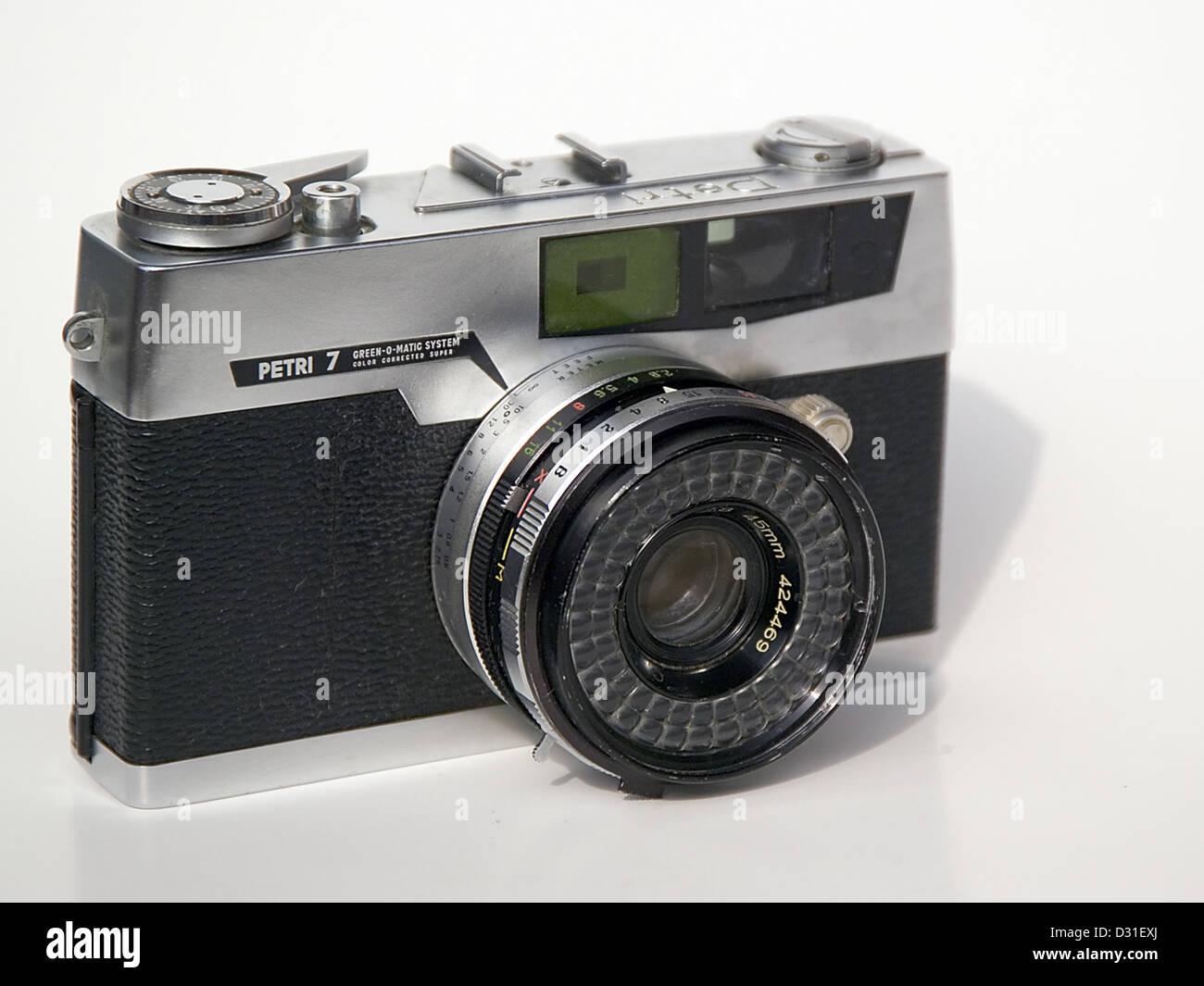 Petri 7 rangefinder camera - Stock Image
