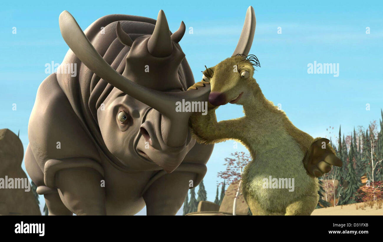 Ice Age - Stock Image