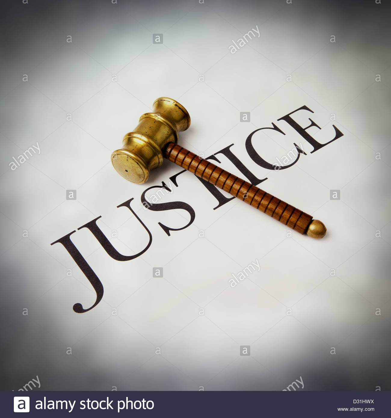 justice - Stock Image