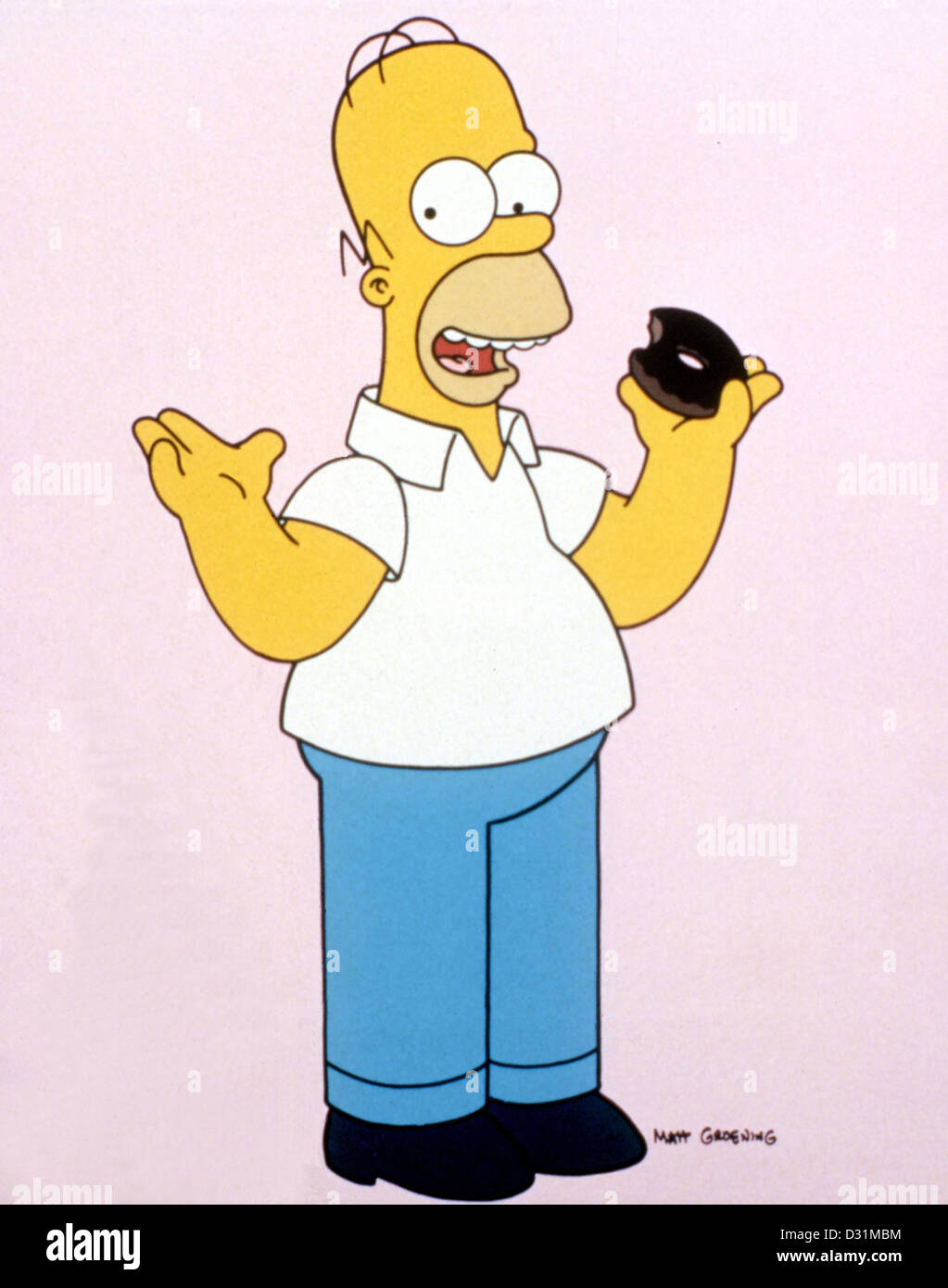The Simpsons (TV Series) - Stock Image