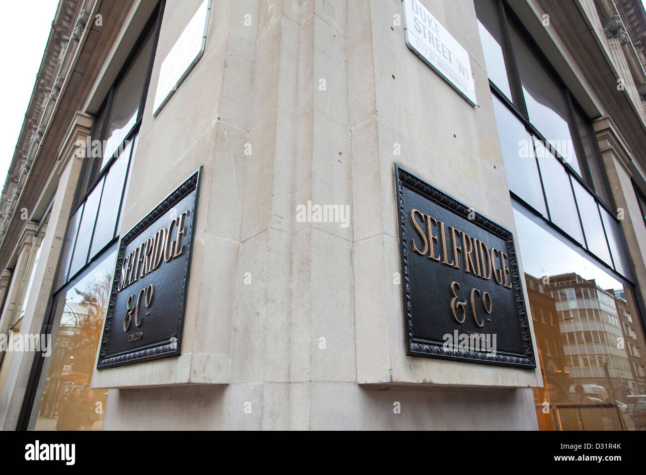 Selfridge Co Department Store In Stock Photos & Selfridge Co ...