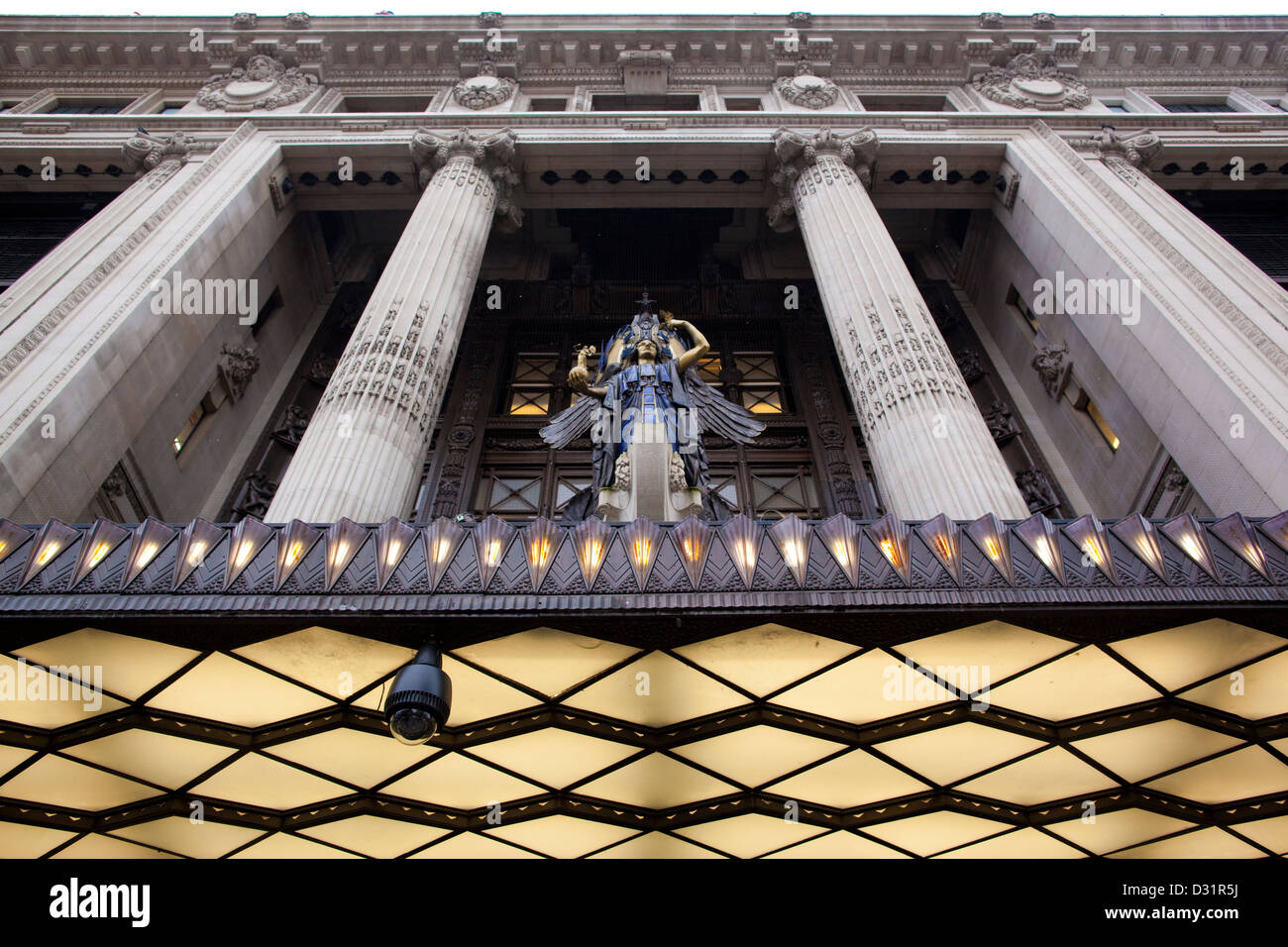 Selfridge & Co (Selfridges) high end department store founded by Harry Gordon Selfridge in 1909, Oxford Street - Stock Image