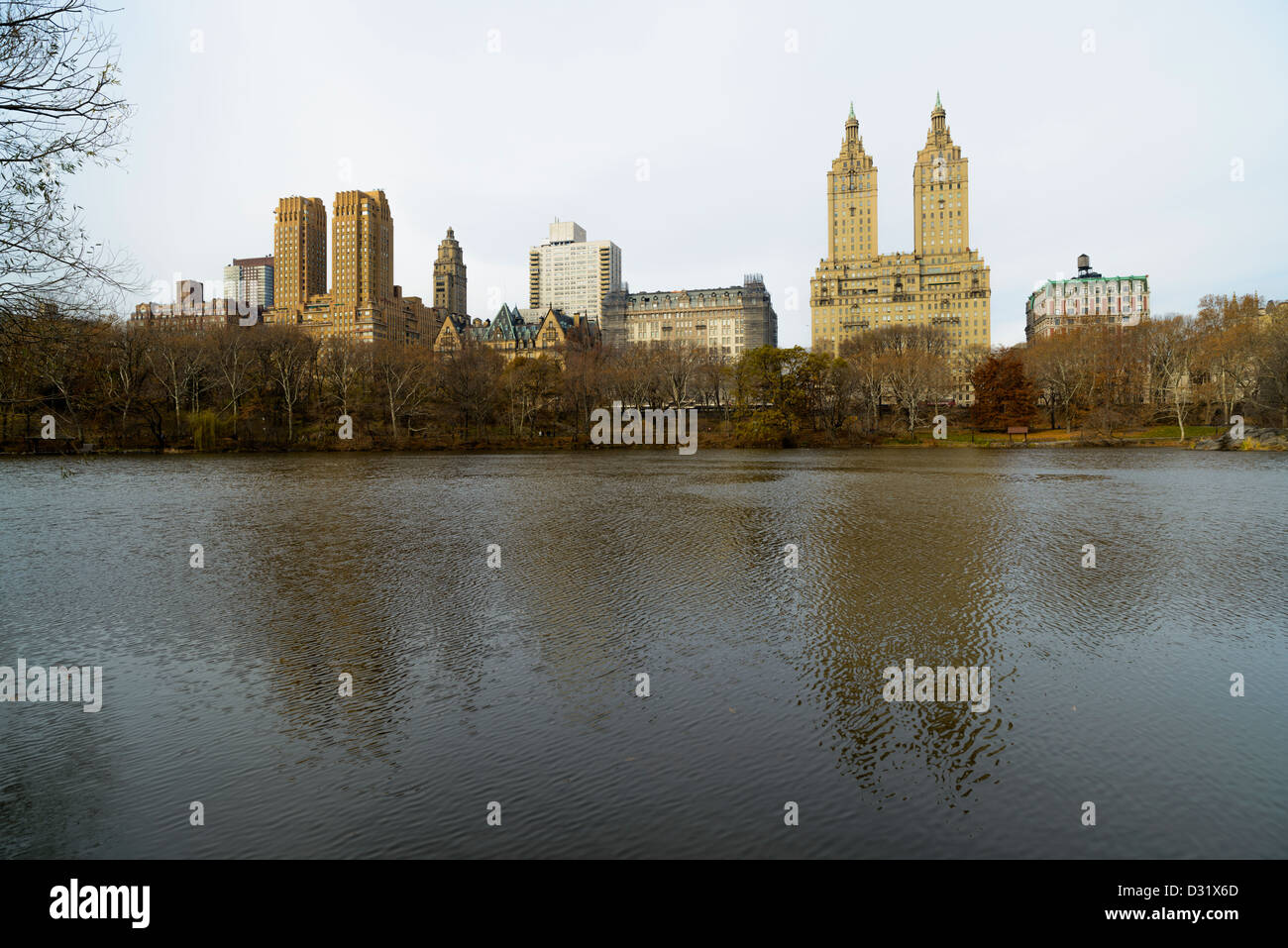 Central Park, New York, USA - Stock Image
