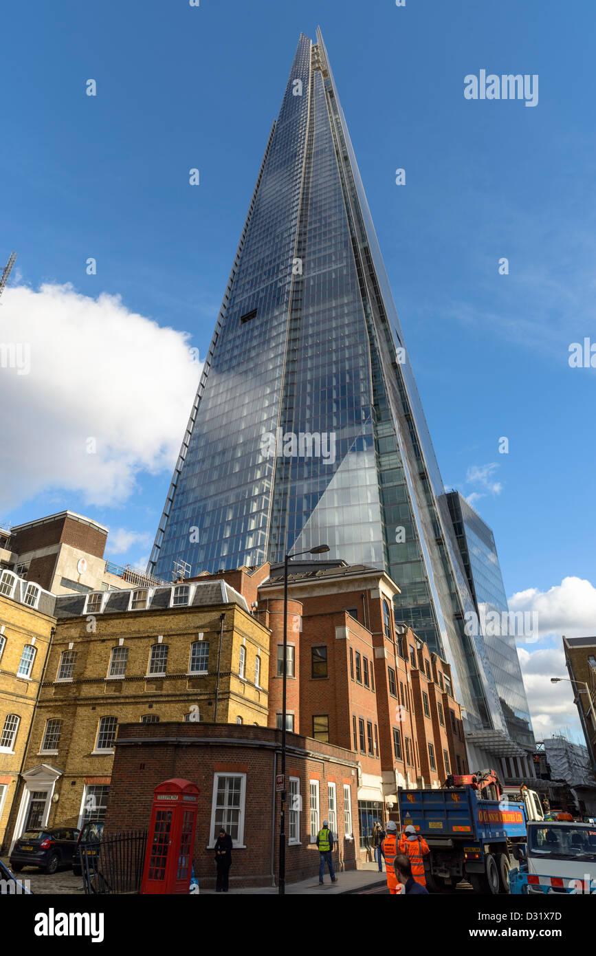 The Shard Skyscraper,London Bridge,London,England,UK - Stock Image