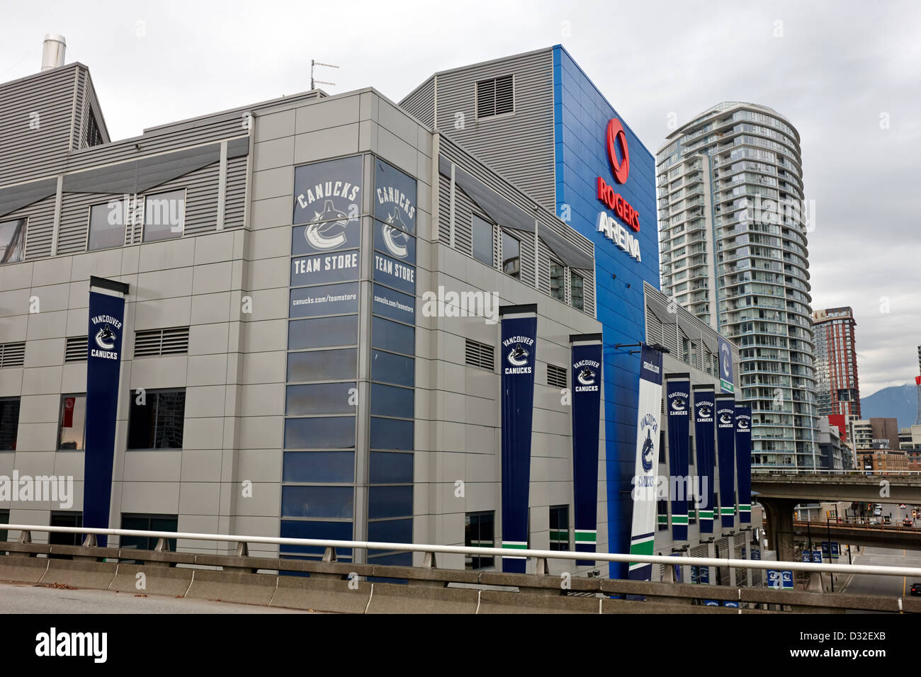 brand new 92bd3 a5b3e the rogers arena home to the Vancouver Canucks BC Canada ...