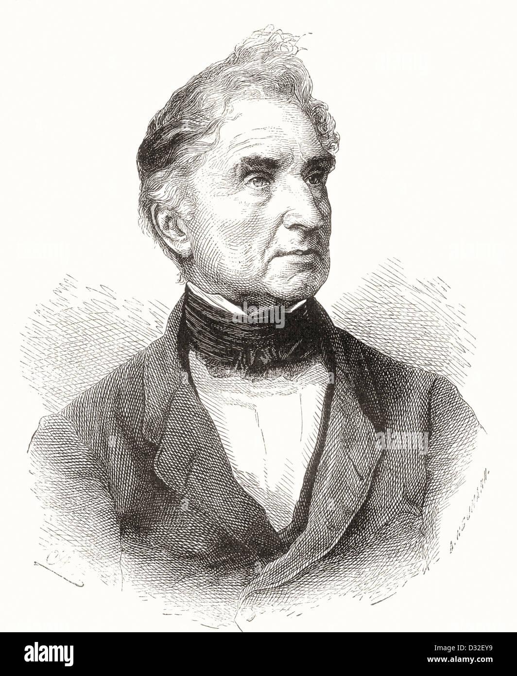 Justus Freiherr von Liebig, 1803 –1873. German chemist. - Stock Image