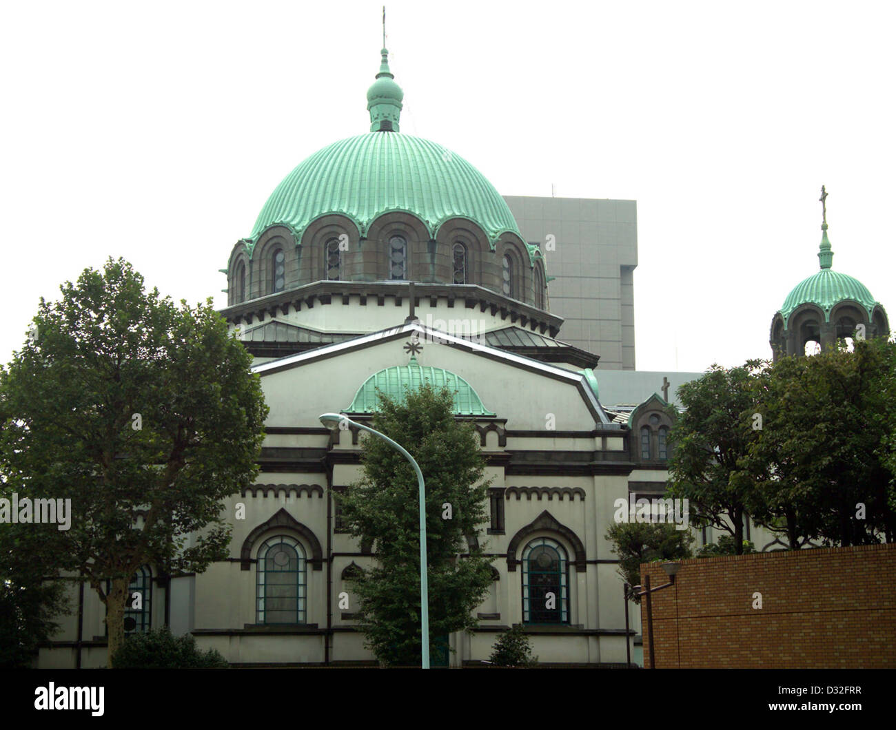 Holy Resurrection Cathedral 東京復活大聖堂, known as Nikorai-do ニコライ堂 - Stock Image
