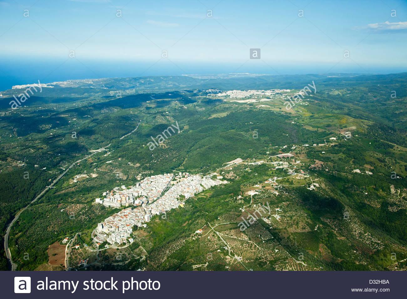 ischitella,vico del gargano,peschici,foresta umbra,parco nazionale del gargano,puglia,italy - Stock Image