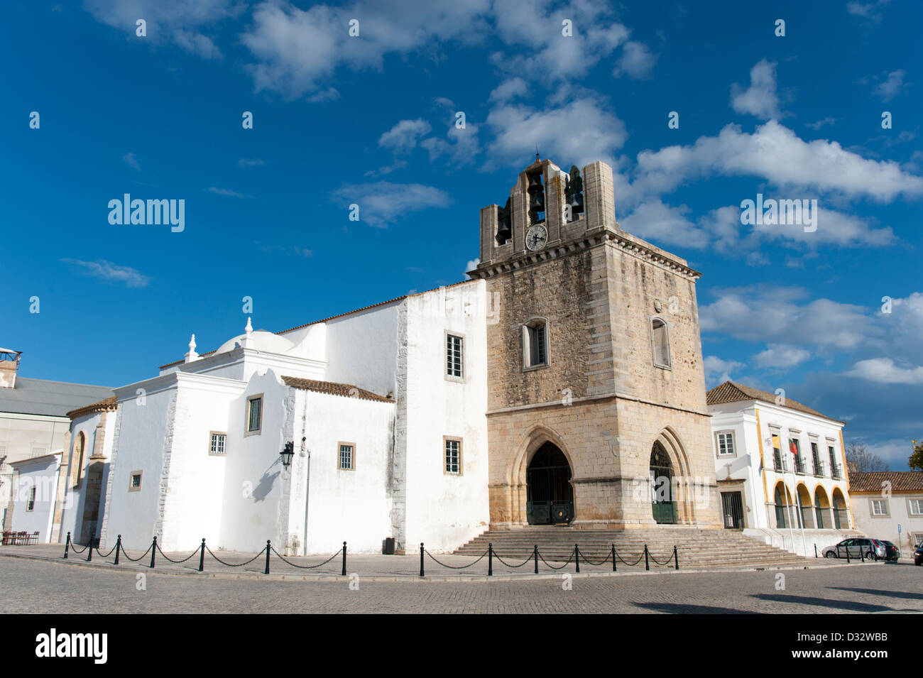 Faro Cathedral, Portugal - Stock Image