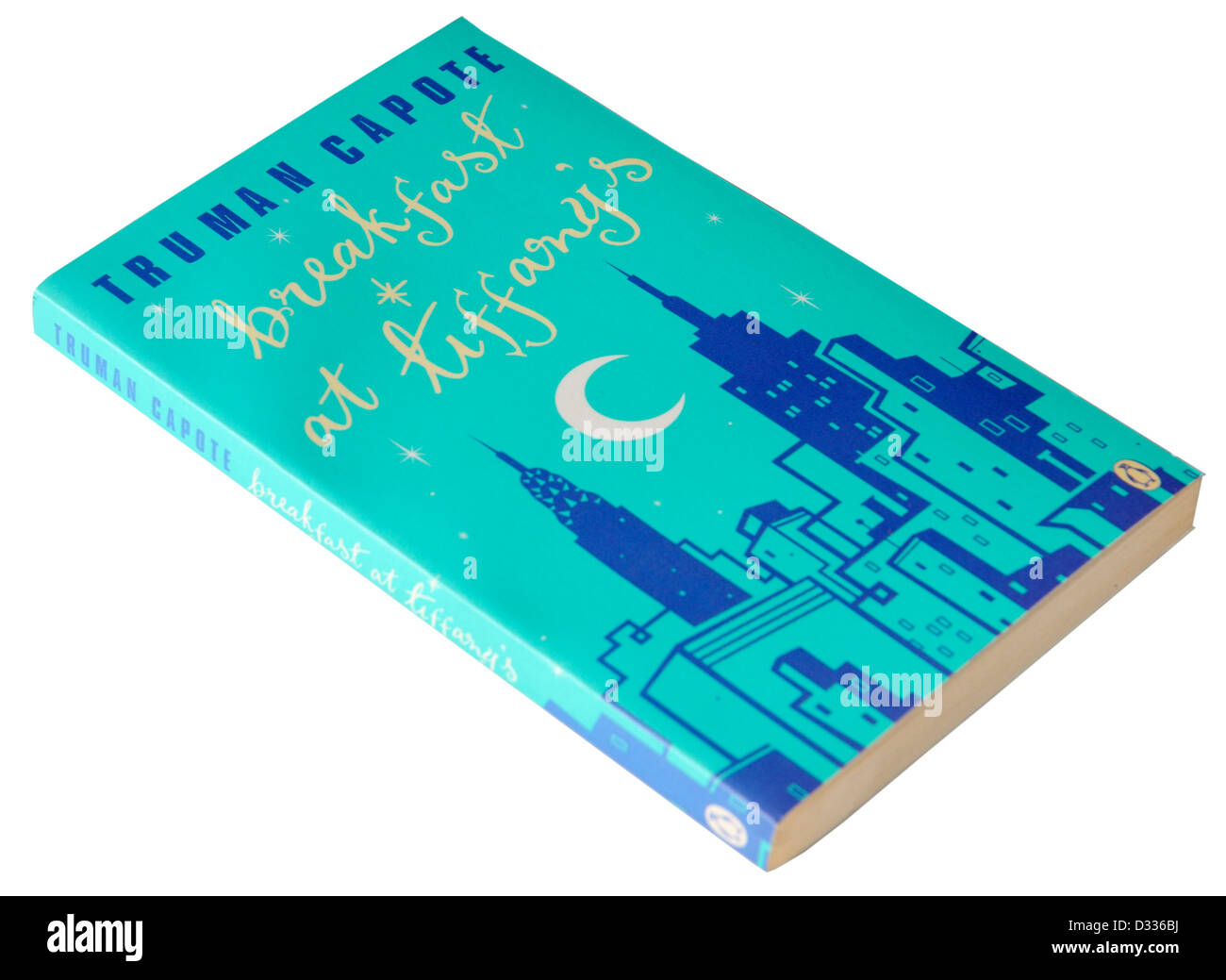 Breakfast at Tiffanys by Truman Capote - Stock Image