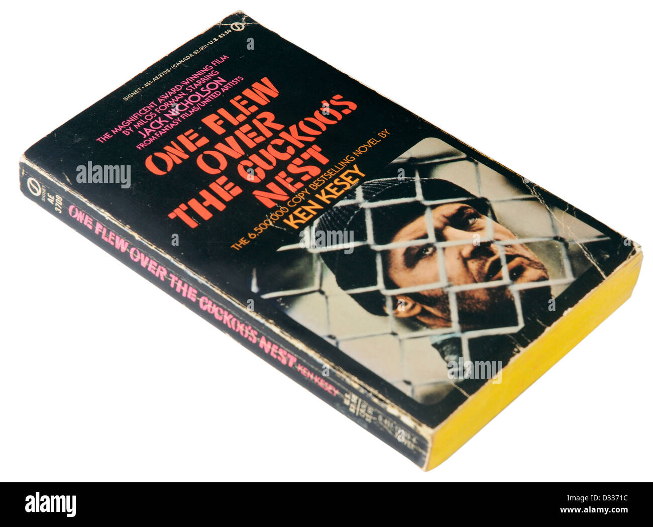 One Flew Over the Cuckoo's Nest by Ken Kesey - Stock Image