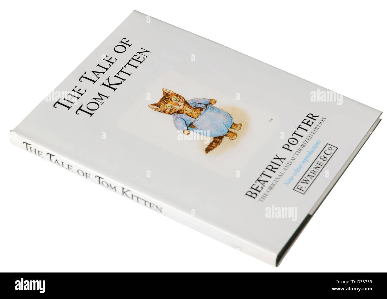The Tale of Tom Kitten by Beatrix Potter - Stock Image