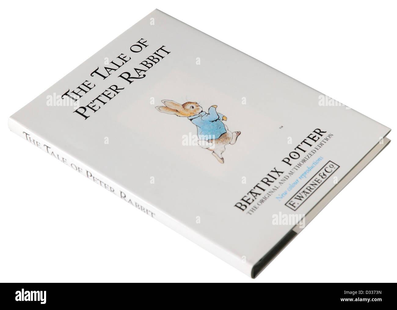 The Tale of Peter Rabbit Beatrix Potter - Stock Image