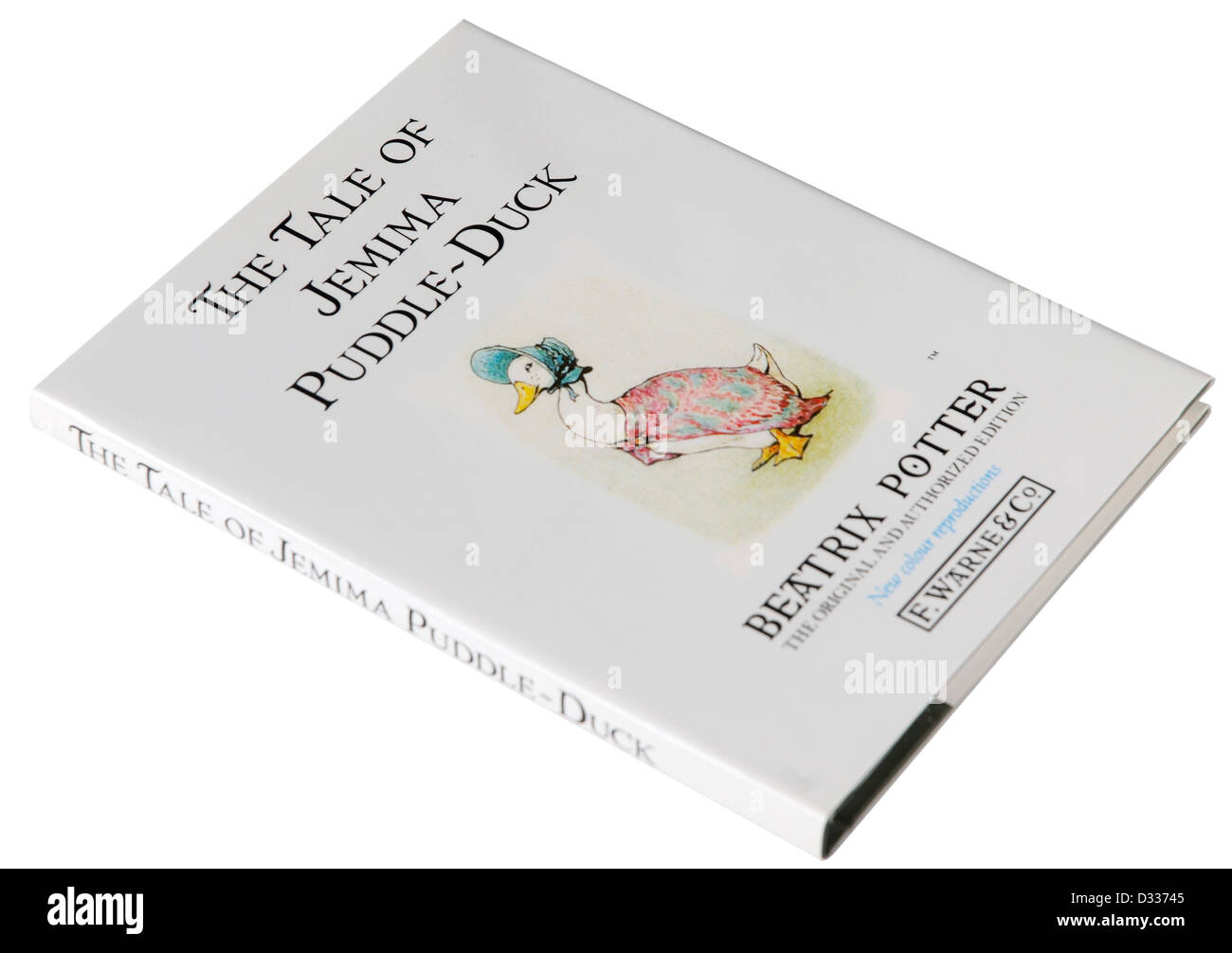 The Tale of Jemima Puddle-Duck by Beatrix Potter - Stock Image