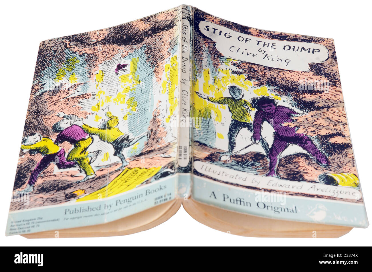 Stig of the Dump by Clive King - Stock Image