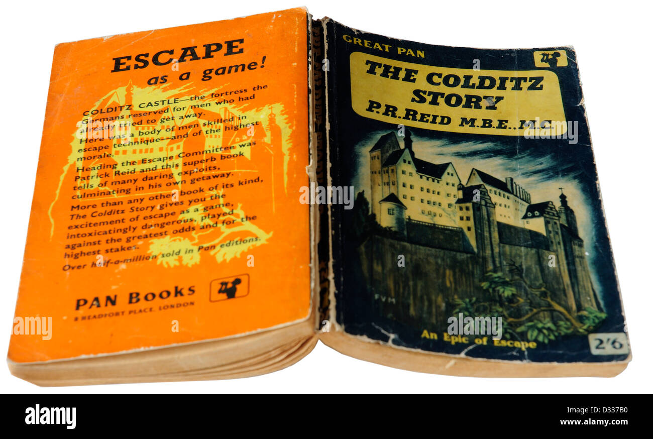 The Colditz Story by PR Reid - Stock Image