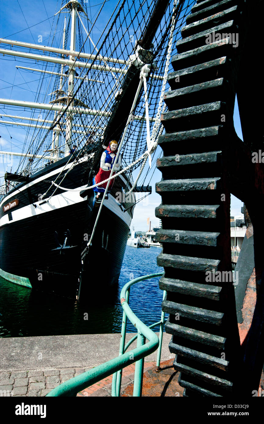 bremerhaven maritime museum Stock Photo
