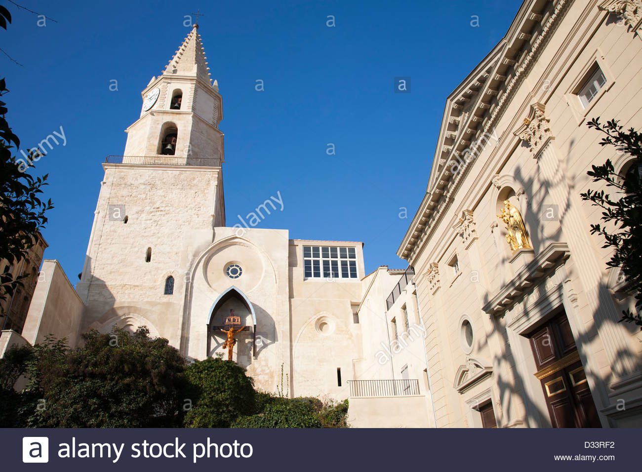 eglise des accoules,marseille,provence,france,europe Stock Photo