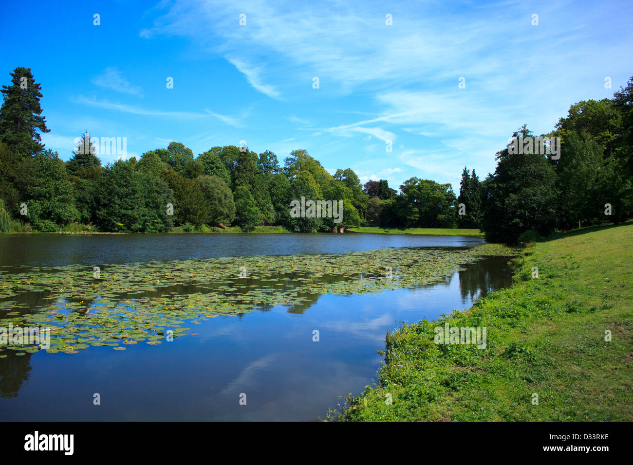 English countryside on a glorious day. - Stock Image