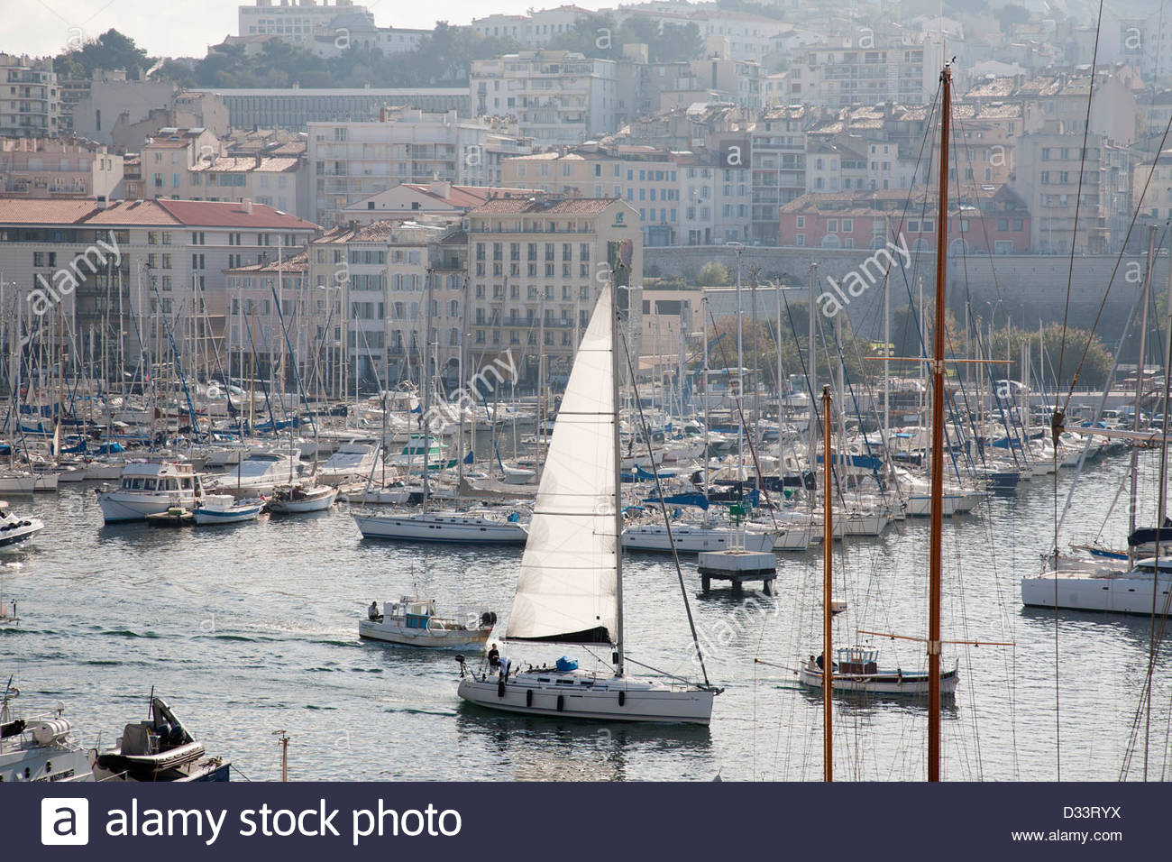 old port,marseille,provence,france,europe - Stock Image