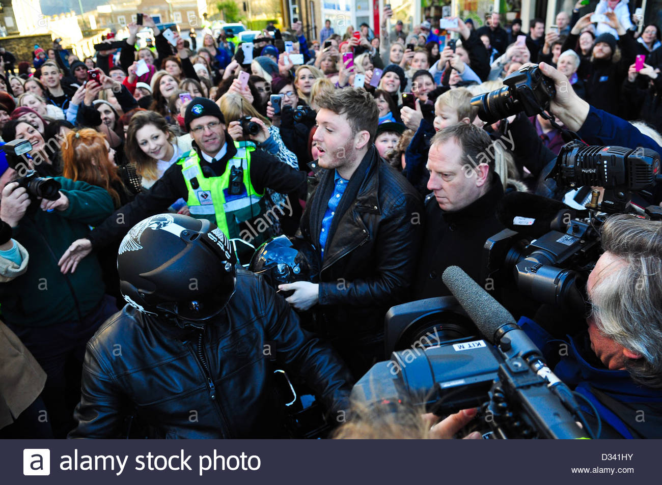 Nicole scherzinger and james arthur stock photos nicole james arthur arrived in saltburn to be meet by hundreds of cheering fans who were waiting m4hsunfo