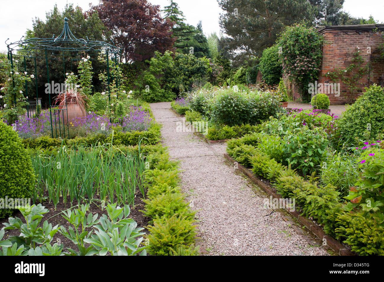 Gravel Garden Path Stock Photos Gravel Garden Path Stock Images