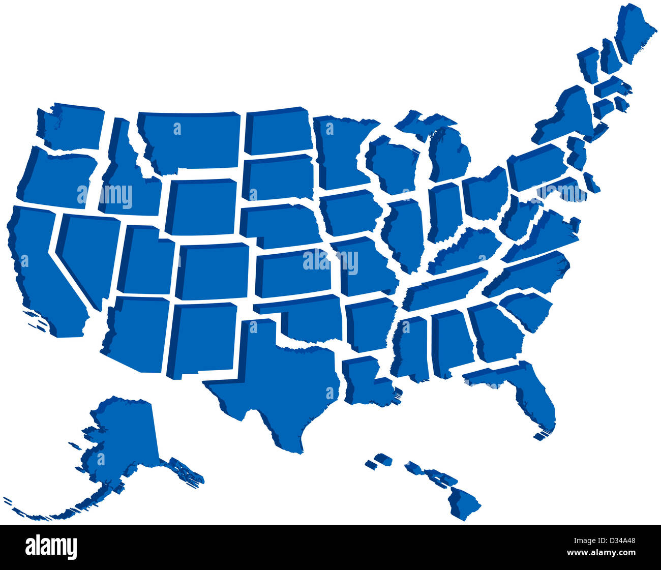Very detailed map of all fifty states in 3d Stock Photo ... on map of united states with states labeled, map of continents, flag of all fifty states, map of japan, map of u.s. territories, all the states, map of all u.s. states, map of all states of america, outline of all fifty states, map of england, map of mexico, go to all fifty states, map of canada, map of puerto rico, map of all 48 states, map of usa states only, map of guam, map of china,