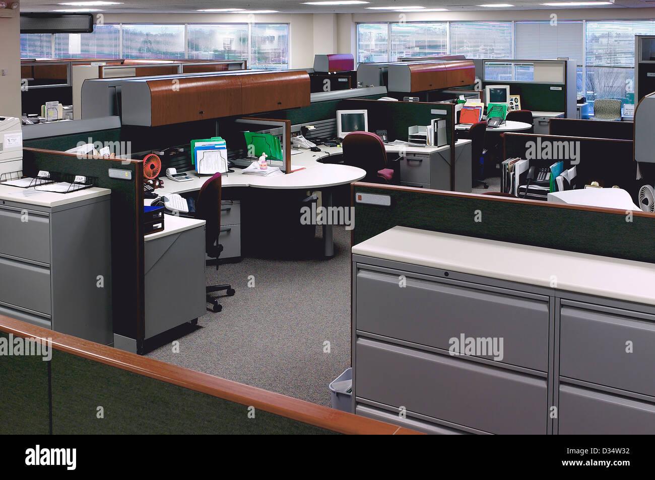 Desks U0026 File Cabinets In Office Interior