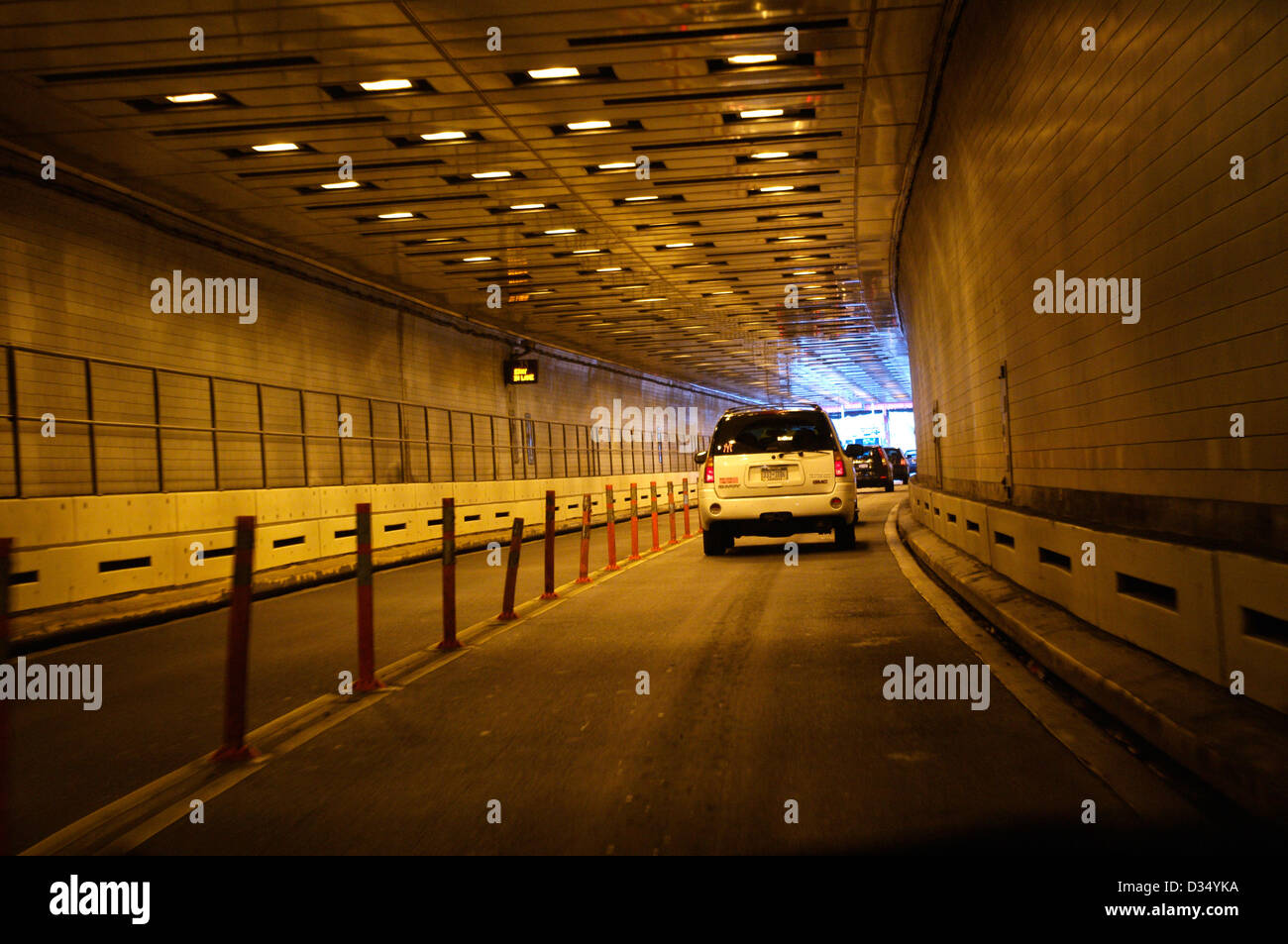 exiting hugh carey formerly brooklyn battery tunnel at lower stock photo 53584590 alamy. Black Bedroom Furniture Sets. Home Design Ideas