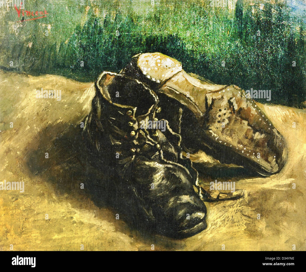 a pair of chaussures van gogh location
