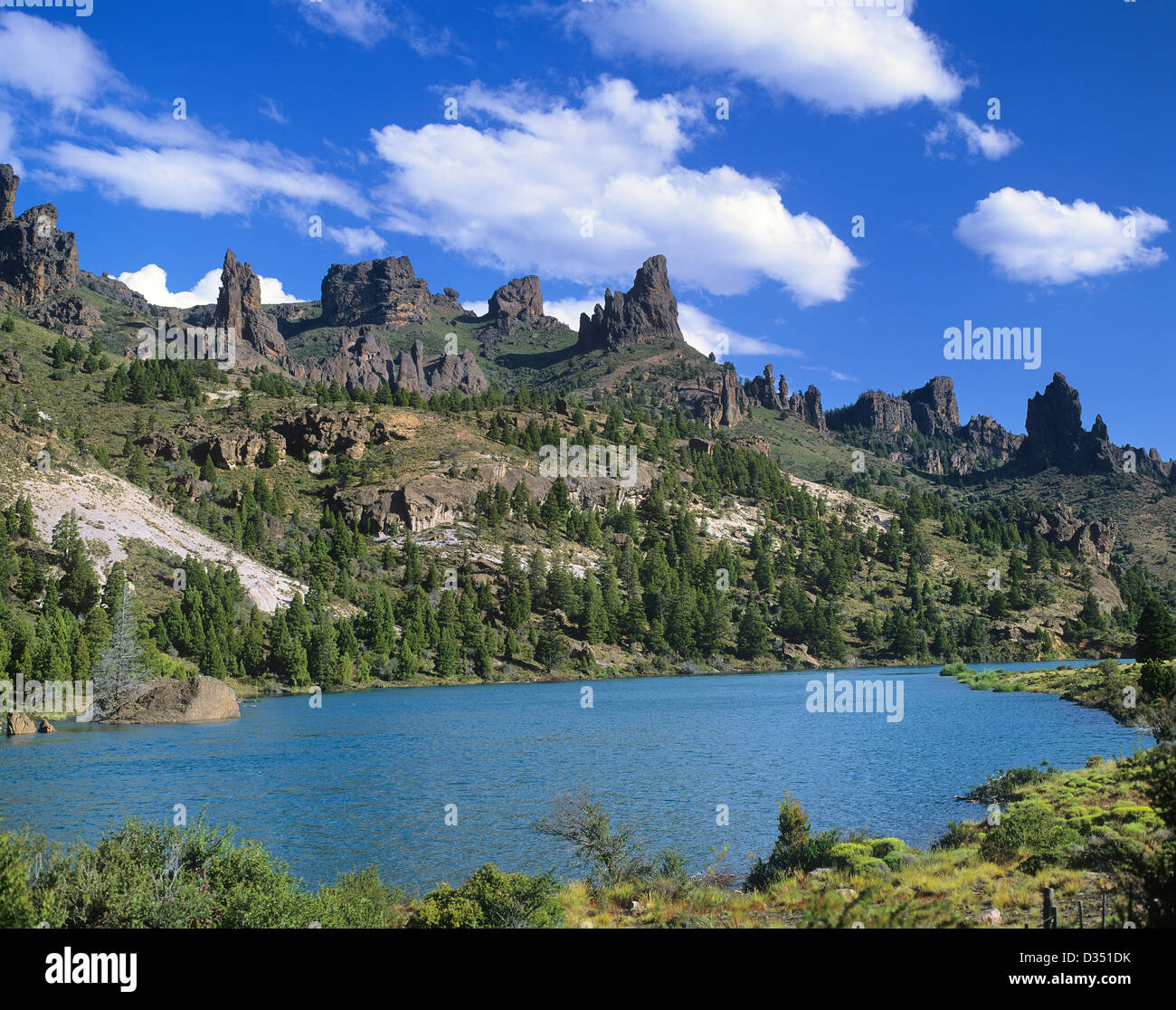 Patagonia South America >> Argentina, Patagonia, Provincia de Rio Negro / Neuquen, 'Valle Stock Photo: 53585999 - Alamy
