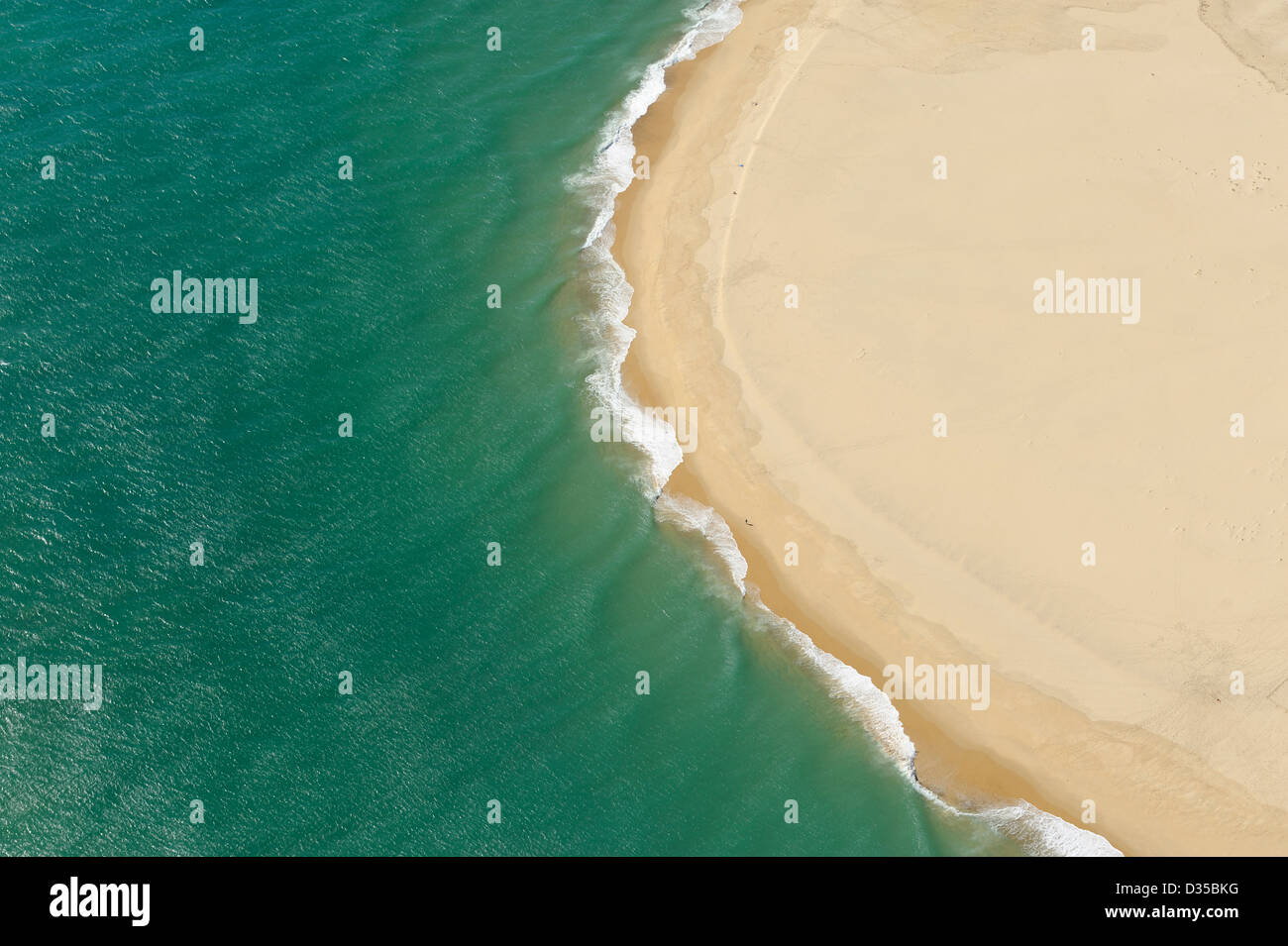 Aerial View Of Banc Darguin Sandy Island Near Dune Of Pilat And