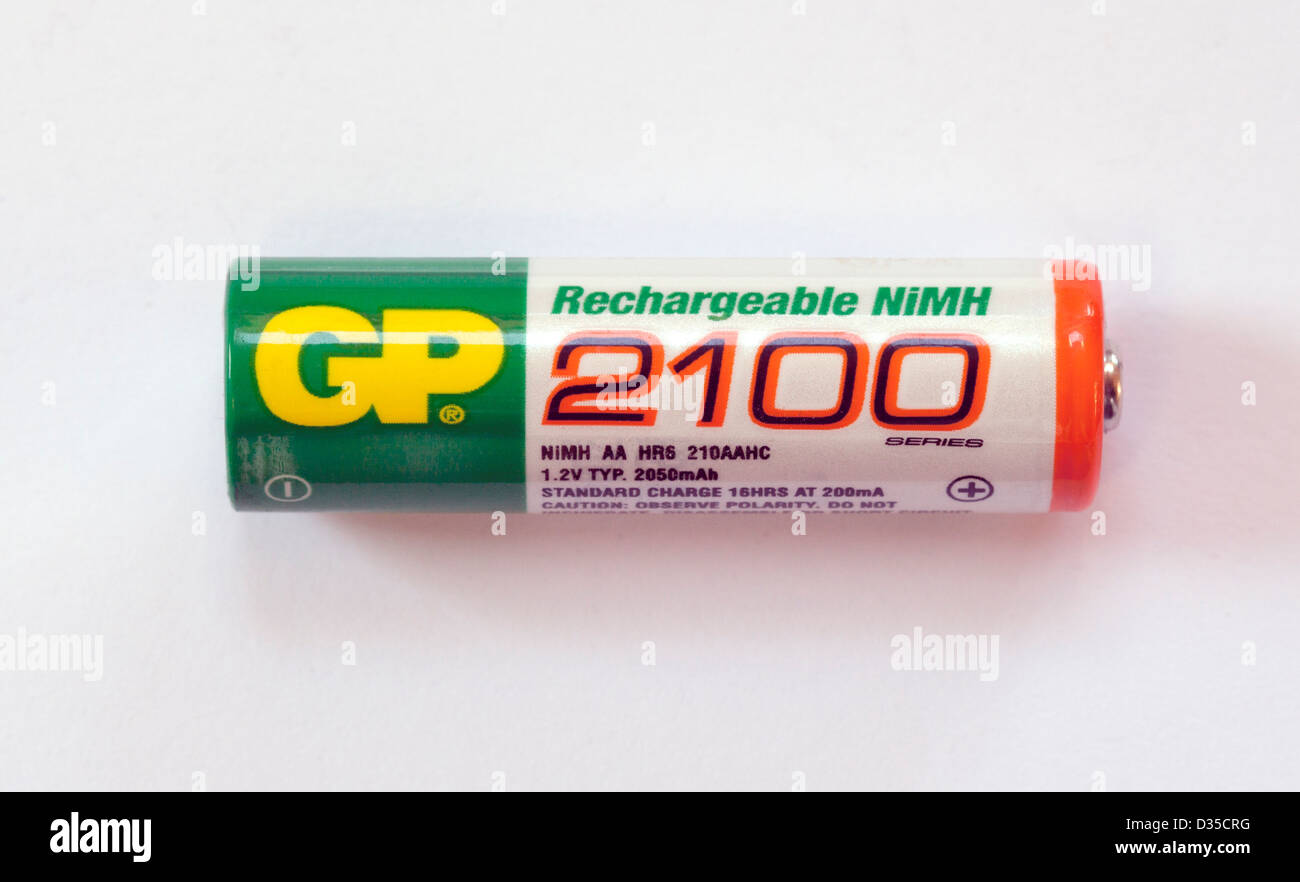 AA MN1500 LR6 NiMH rechargeable battery - Stock Image