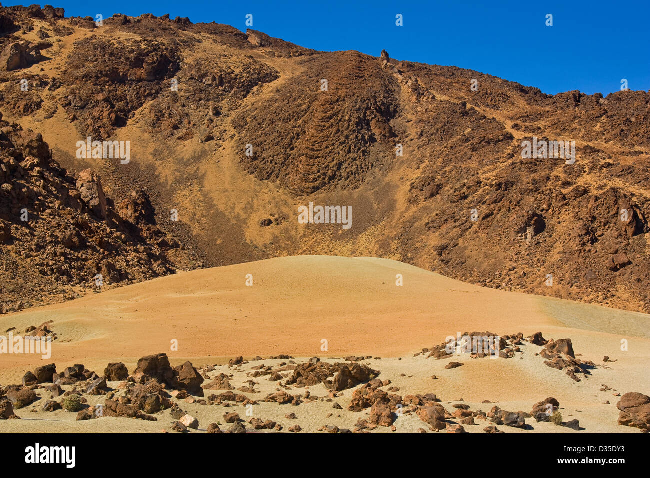 Coulée in Tenerife - Stock Image